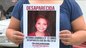 Polícia encontra corpo de menina de 12 anos desaparecida em SP