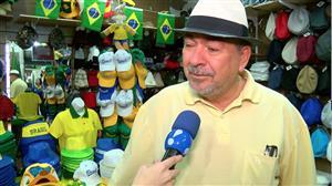 Brasileiros aquecem o comércio antes da estreia da seleção na Copa do Mundo