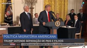 Trump defende separação de pais e filhos na fronteira dos EUA