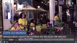 Brasileiros se reúnem na China para acompanhar a estreia da seleção na Copa