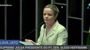 Supremo julga a senadora Gleisi Hoffmann por corrupção
