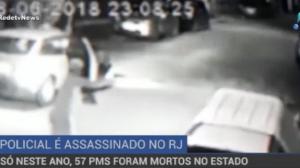 57 PMs já foram mortos no Rio de Janeiro em 2018