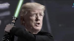 Trump vira meme por querer dominar o espaço sideral