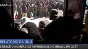 Cresce o número de refugiados no Brasil em 2017, diz ONU