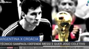Sampaoli defende Messi e quer jogo coletivo da seleção argentina