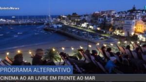 Cinema ao ar livre é um programa alternativo em Portugal