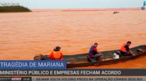 MP fecha acordo com mineradoras para reparar danos da tragédia em Mariana