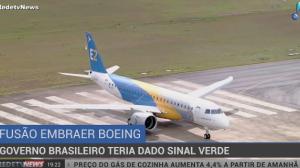 Governo teria dado sinal verde para fusão entre Embraer e Boeing