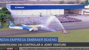 Boeing controlará joint venture após pagar US$ 4,75 milhões pela Embraer