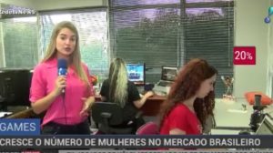 Número de mulheres cresce no mercado brasileiro de games