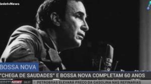 """Canção """"Chega de Saudade"""" e Bossa Nova completam 60 anos"""