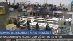 Orçamento das contas públicas deve fechar com déficit de R$ 157 bilhões
