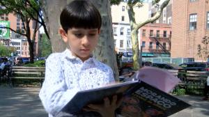 Conheça brasileiro de oito anos que escreveu livros e impressionou a ONU