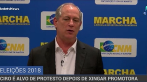 """""""Ciro Gomes reforça a pecha de estopim curto"""", afirma Boris Casoy"""