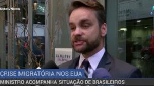 Ministro dos Direitos Humanos acompanha situação de brasileiros nos EUA