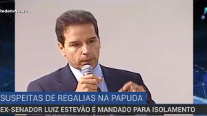 Luiz Estevão é suspeito de doar imóvel em troca de regalias