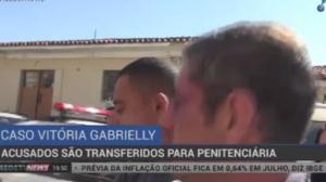 Acusados de matar Vitória Gabrielly são transferidos para penitenciária