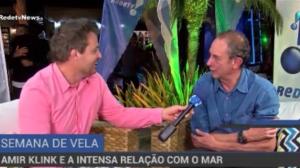 Um dos maiores velejadores brasileiros, Amyr Klink  é desbravador do oceano