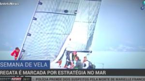 Regatas de vela são marcadas pela estratégia dos velejadores no mar