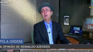 """""""Criou-se uma relação de ódio permanente com a política"""", diz Azevedo"""