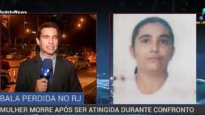 Mulher morre após ser baleada durante tiroteio no Rio