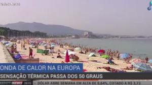 Onda de calor deixa cinco mortos na Espanha