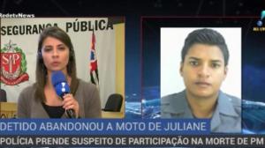 Polícia prende suspeito de participação na morte de PM em São Paulo