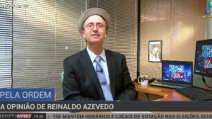"""""""É justo que ministros tenham um reajuste"""", diz Reinaldo Azevedo"""