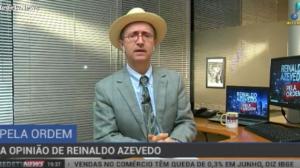 """""""Moro está fazendo campanha eleitoral"""", critica Reinaldo Azevedo"""