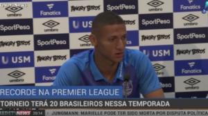 Premier League quebra recorde com 20 brasileiros na temporada