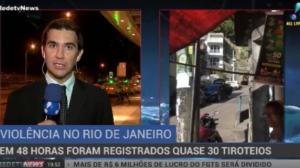 27 tiroteios são registrados no Rio de Janeiro em 48 horas