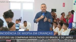 Estudo vai comparar resultados de miopia em crianças do Brasil e do Japão