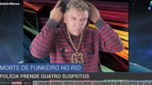 Quatro suspeitos são presos após morte do funkeiro MC G3