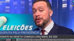 Portal da RedeTV! faz cobertura especial do debate com presidenciáveis