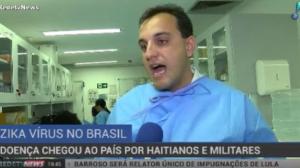 Zika vírus chegou ao Brasil por haitianos e militares, diz estudo