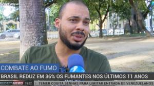 Brasil reduz em 36% o número de fumantes nos últimos 11 anos