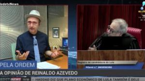 """""""Voto de Barroso sairá vencedor"""", afirma Reinaldo Azevedo"""