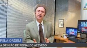 """Reinaldo Azevedo: """"O nome disso é caça política e caça aos políticos"""""""