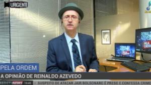 """Azevedo sobre ataque a Bolsonaro: """"Esquerdas decidiram que foi uma tramoia"""""""