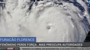 Furacão Florence perde força novamente