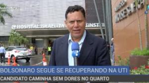 Novo boletim médico diz que quadro clínico de Bolsonaro ainda é grave