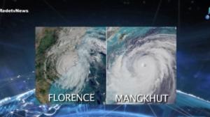 Super tufão Mangkhut deve chegar a Macau neste domingo (16)