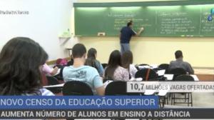 Cresce o número de brasileiros matriculados no ensino a distância
