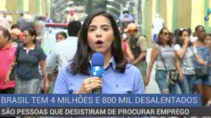 Cerca de quatro milhões de brasileiros desistiram de procurar emprego