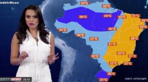 Neste início de Primavera, o clima é quente na maior parte do Brasil