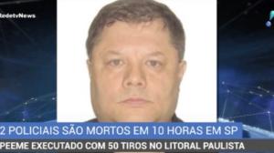 Policial militar é executado com 50 tiros no litoral paulista