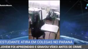 Estudante atira em colegas de classe no Paraná
