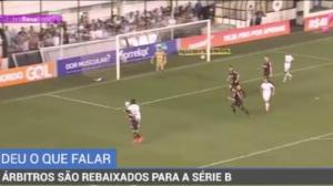 Arbitragem é alvo de críticas na última rodada do Brasileirão