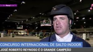 José Roberto Reynoso é o grande campeão de concurso de hipismo em SP