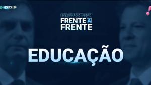 Bolsonaro e Haddad - Educação